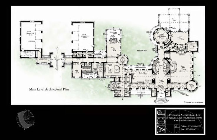 20000 sq ft first floor J Costantin Architecture Colts Neck