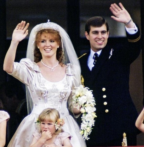 The Second Son Of Queen Elizabeth Ii Prince Andrew And Sarah Ferguson July