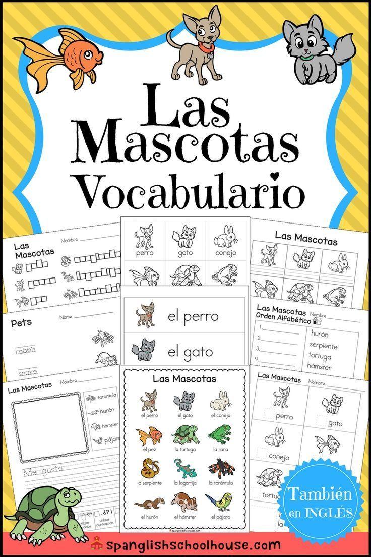 Las Mascotas Vocabulario Este Impresionante Recurso Esta Repleto De Ac Ac De Esta Este Impresionante Las Vocabulario Mascotas Trabajo De Palabras