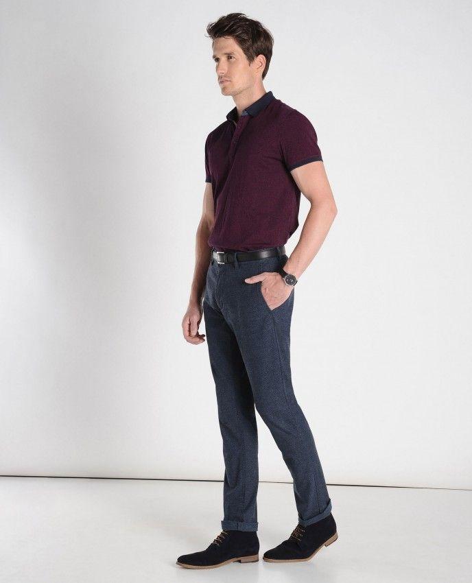 BURTON - Pantalons, jeans & shorts - CHINO SLIM FIT EN COTON GRATTÉ - CHOUX S