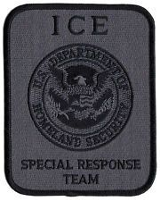 * SPECIAL RESPONSE HOMELAND DHS AGENCY FEDERAL CBP DHS ICE FBI SWAT POLICE PATCH