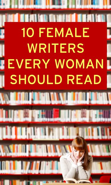 10 female writer every woman should read at least once