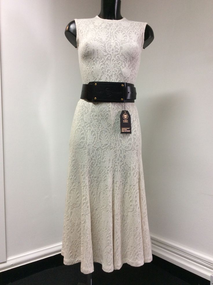 Robert Kalinkin belt & Undress dress.