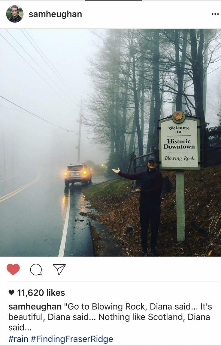 Sam Heugham Instagram - the Scottish weather is following him :)
