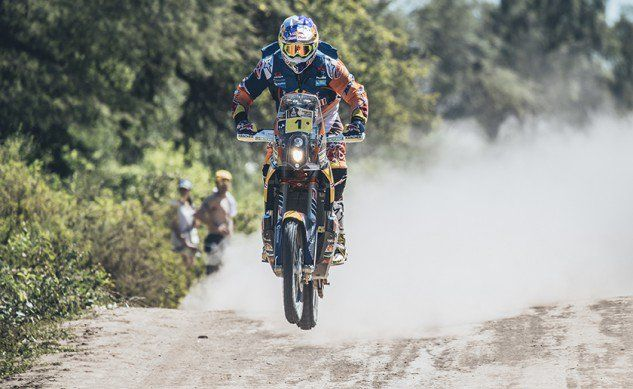 Dakar Rally Stage 2 Win To KTMs Toby Price - Motorcycle.com News