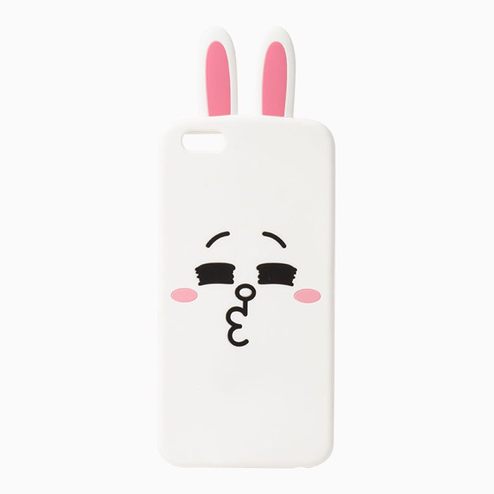 LINE FRIENDS Character iPhone 6 Plus 6S Plus Silicone Case CONY Official Goods #LINEFRIENDS