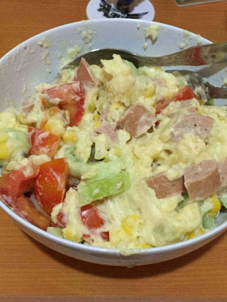 Potato Wurst Salad  :3