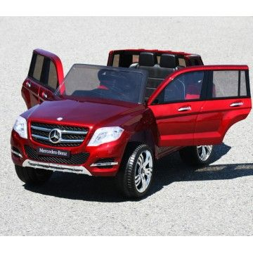 licensed mercedes benz glk amg kids ride on power wheels battery toy car dull black