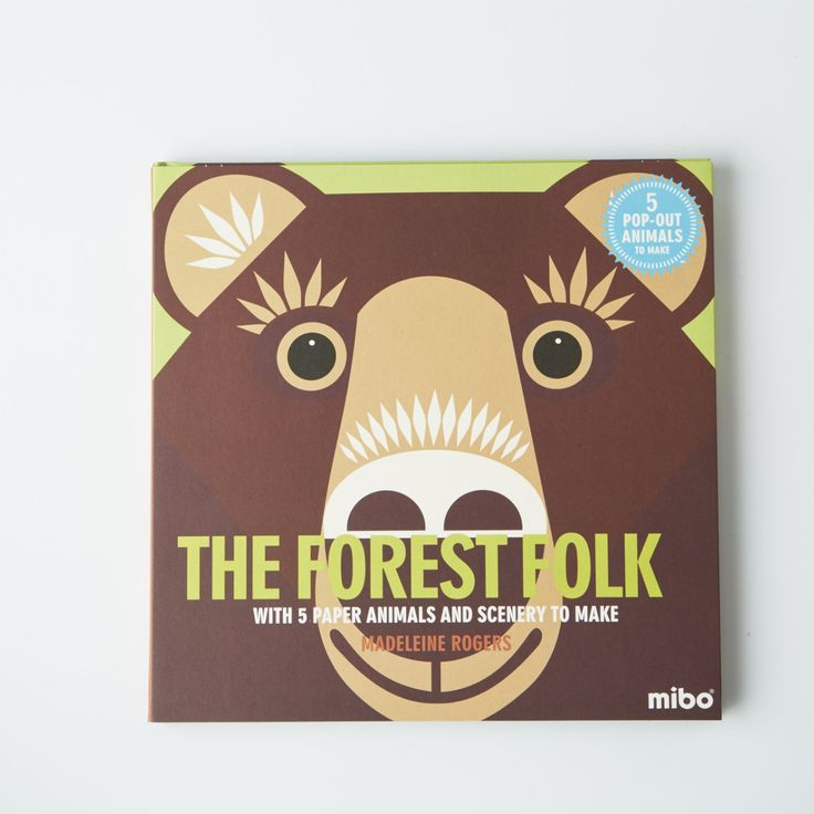 Explore the forest & learn about the wild animals that live there, in this exciting book by Mibo. Includes 5 perforated pop out animals to make into 3D figures.