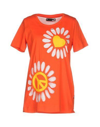 LOVE MOSCHINO Women's T-shirt Orange 10 US