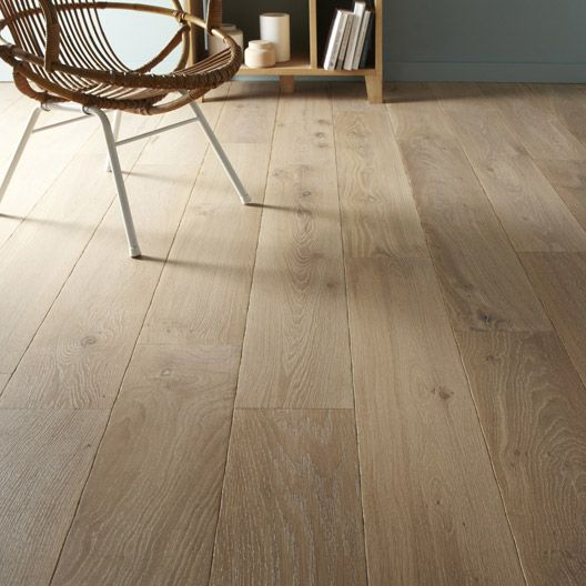 parquet contrecoll broceliande largeur xxl ch ne blanc vieilli bross huil at home pinterest. Black Bedroom Furniture Sets. Home Design Ideas