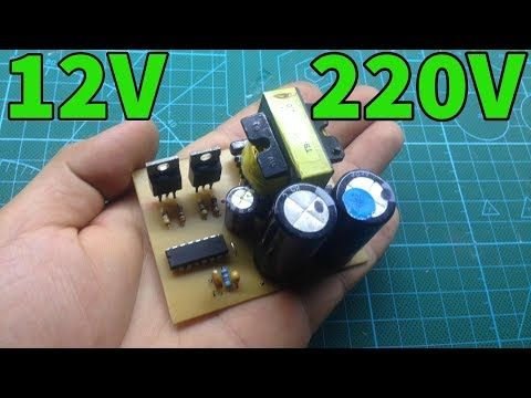 Simple INVERTER 12V to 220V from ATX supply part1 …