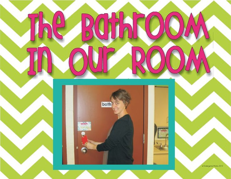 Free printable classroom bathroom procedures book that is a sample from what I use in my classroom. It includes knocking on the door, being polite, being tidy and washing...