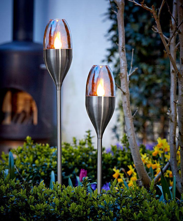 Great Luxform® Solar RVS Garden Torch Product Photo