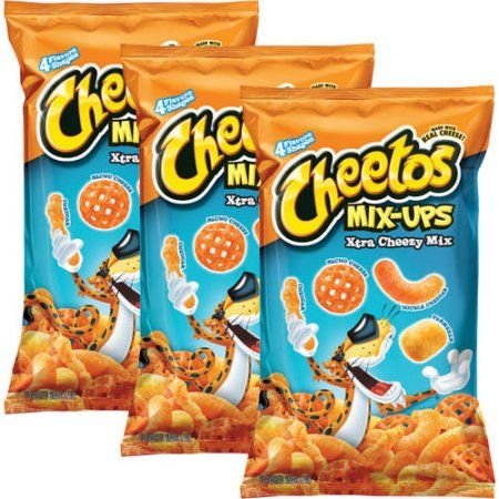 Cheetos Mix-Ups Xtra Cheezy Mix Flavored Snack Mix, 8 oz (Pack of 3)…