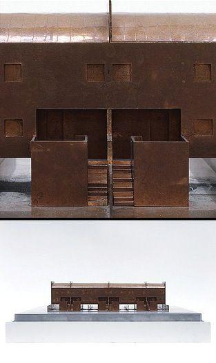 Aldo Rossi. Broni townhouses