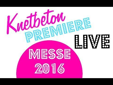 KREATIV-MESSE 2016 KNETBETON! die schönsten Bilder! - YouTube