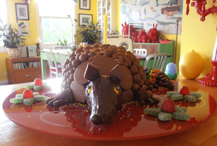 armadillo cake | Flickr - Photo Sharing!