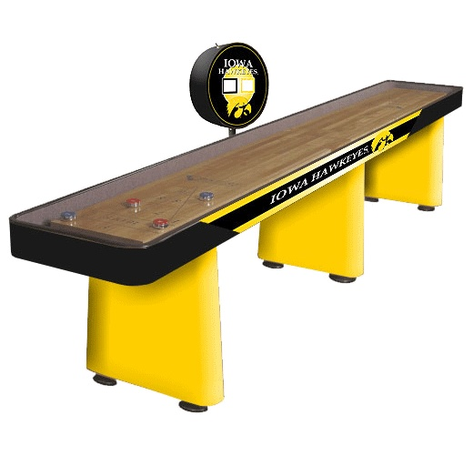Hawkeyes shuffleboard