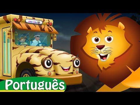 As Rodas Do Ônibus | Animais Selvagens | Canções Infantis Em Português | ChuChu TV Colecção - YouTube