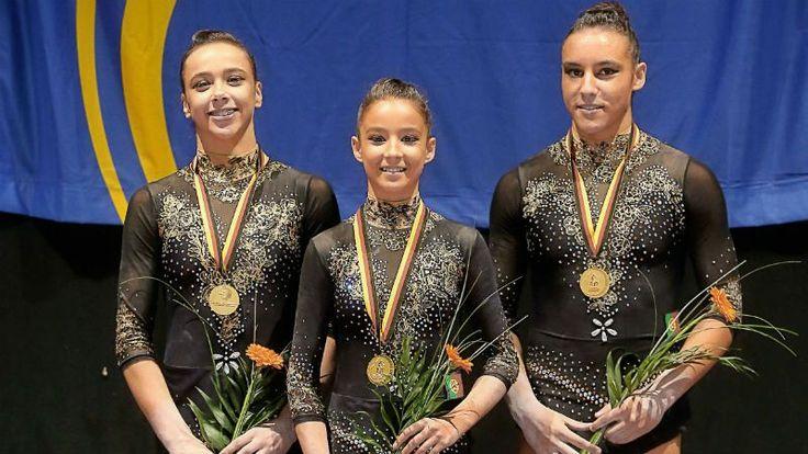 Trio português vence ouro em ginástica acrobática - Desporto - TSF Rádio Notícias