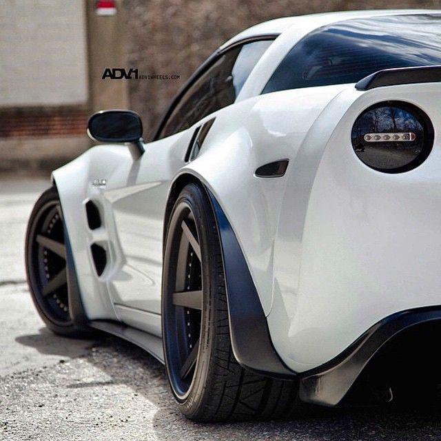 """""""Widebody C6 Corvette on #ADV1 Wheels"""""""