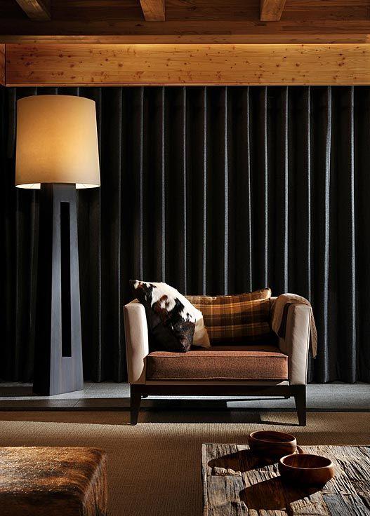 Nicky Dobree Designer Floor LampsChalet InteriorSki