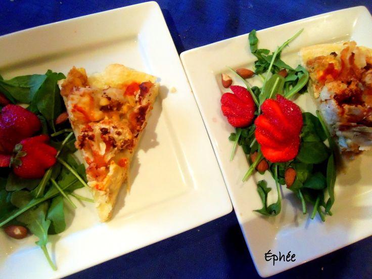 """L'éphémère quotidienneté des repas et autres trucs de magie: Pizzas au chou-fleur """"buffalo"""" et """"fromage bleu"""""""
