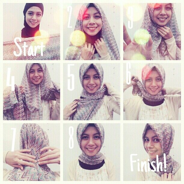 Turkish Hijab Style Step By Step Hijab Tutorials Pinterest Hijab Styles Turkish Hijab