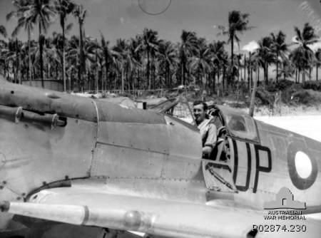 Momote airfield, Los Negros, Admiralty Islands, New Guinea. August 1944.