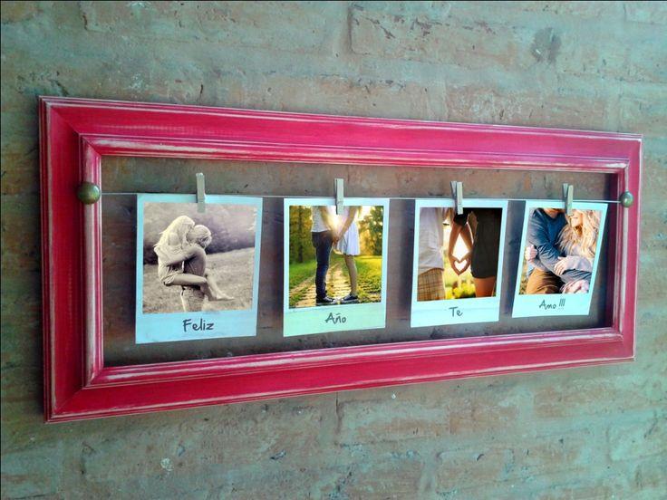 Marcos de madera vintage portaretratos casa 494356 - Decoracion vintage reciclado ...