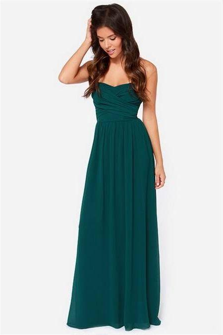 Nice Green maxi dress 2018-2019