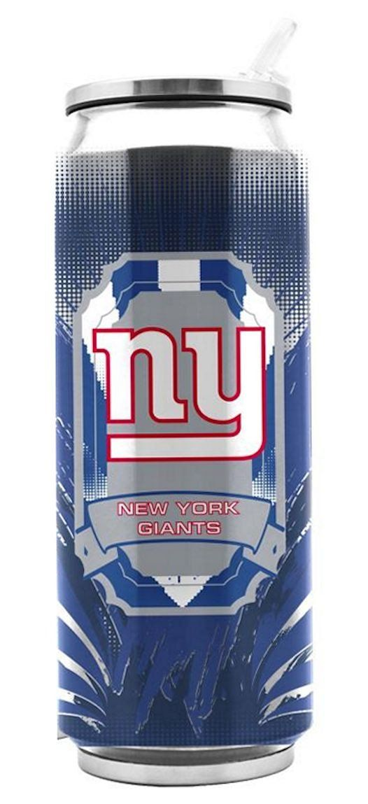 New York Giants Stainless Steel Thermo Can - 16.9 ounces