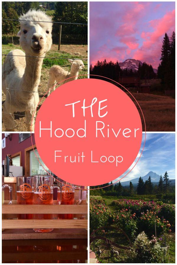 hood river fruit loop, fruit loop, oregon, columbia river gorge