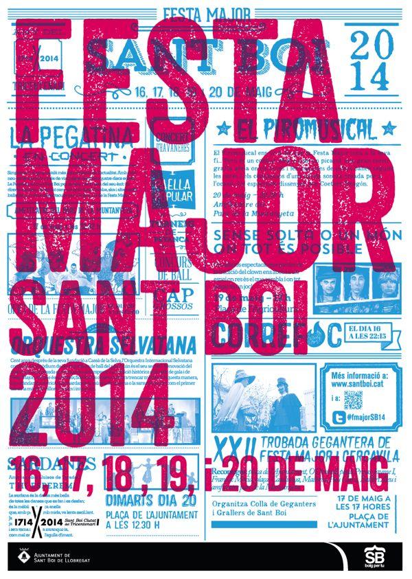 Festa Major de Sant Boi 2014 by Marc Pallàs