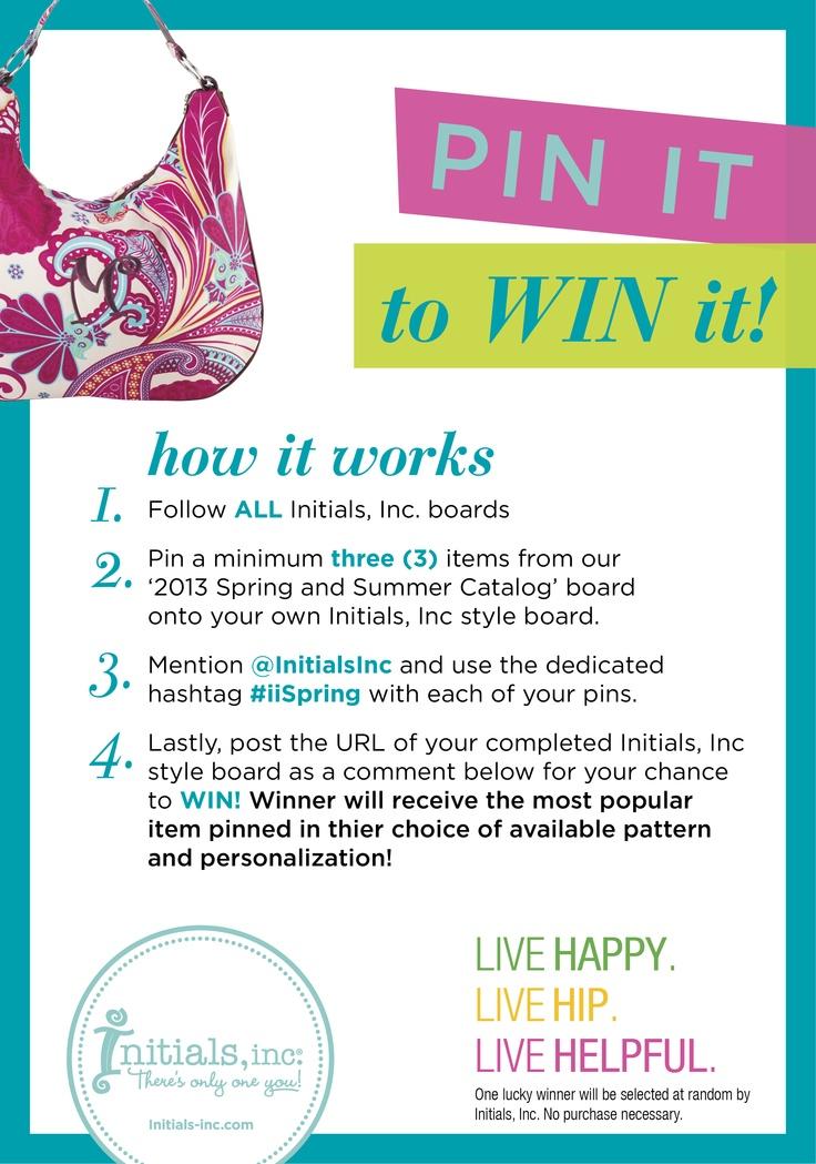 Enter to win #iiSpring