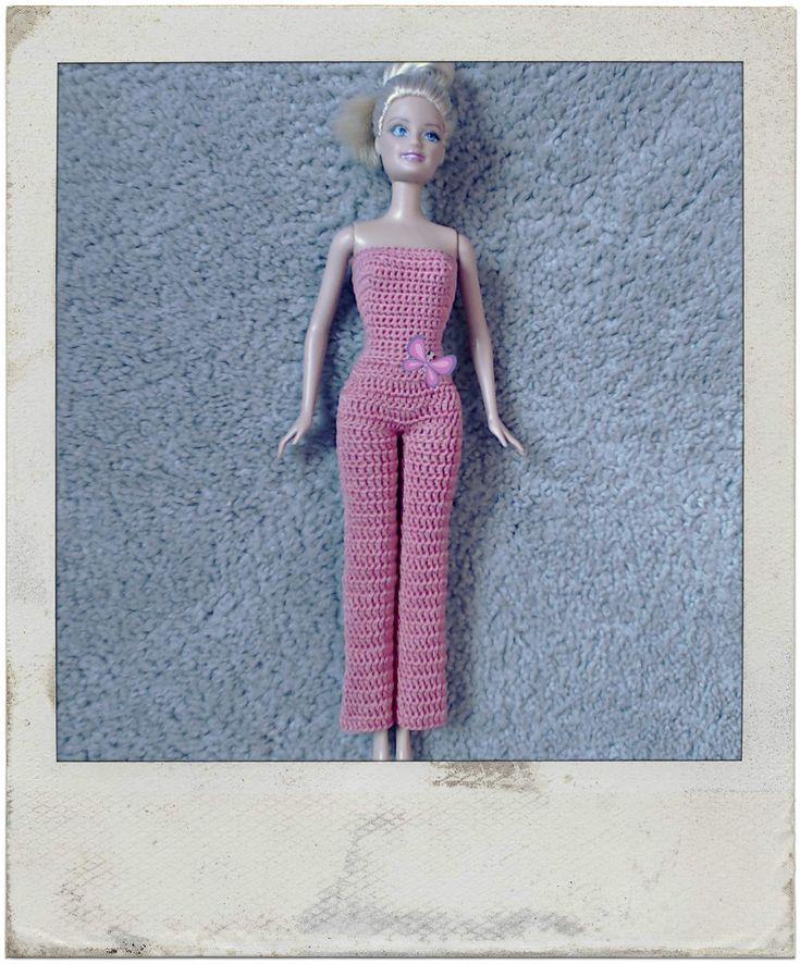 Barbie's - Single & Double Crochet Jumpsuit