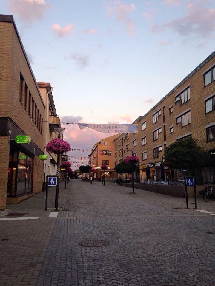 #Vänersborg # nature #sky #colorful