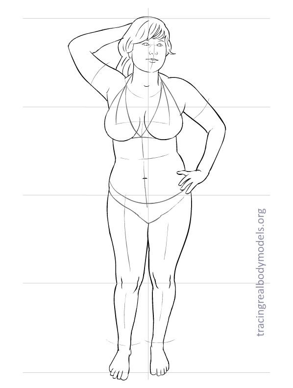 33 new full-size templates to trace and dress, with real body models Right-click on the image, save it on your computer and print it on a normal sheet of paper. Trace the template with a pencil on …