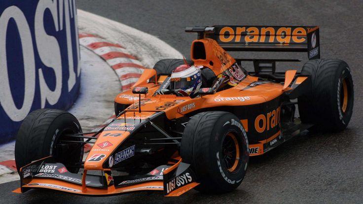 Jos Verstappen in the Orange Arrows