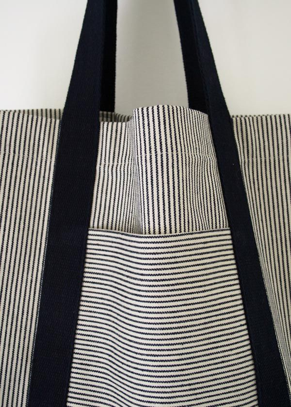 Molly's Sketchbook: Railroad Tote