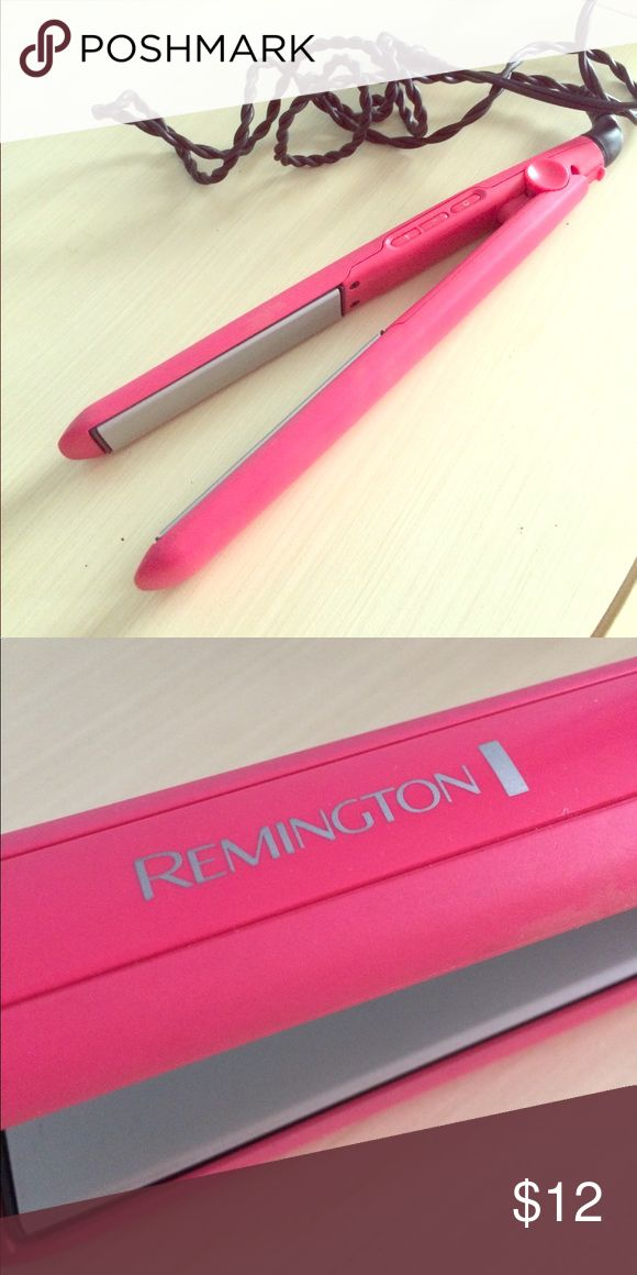 Remington Hair Straightener Great hair straightener! Only selling because I have two of them. Please let me know if you have questions! Bundle and save 10%. 🙂 Remington Other