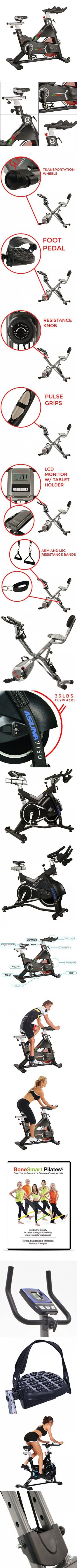 Professional Indoor Cycling Bike for Achieving Your Fitness Goals - Cycle Bikes with Adjustable Seat and Heavy Duty Crank & Smooth Chain Drive Mechanism - (Black)