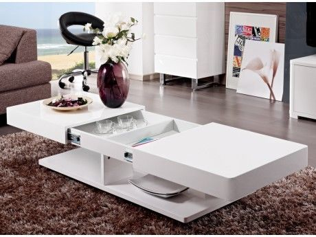 Couchtisch Hochglanz Aramis - Weiß in Möbel & Wohnen, Möbel, Tische   eBay!