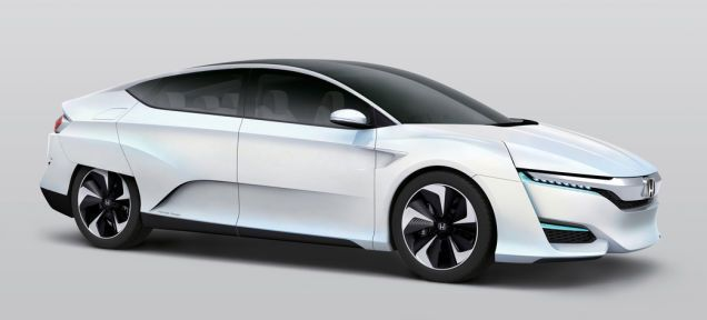 The #Honda #FCV Hydrogen Car Can Power Your Home In A Disaster