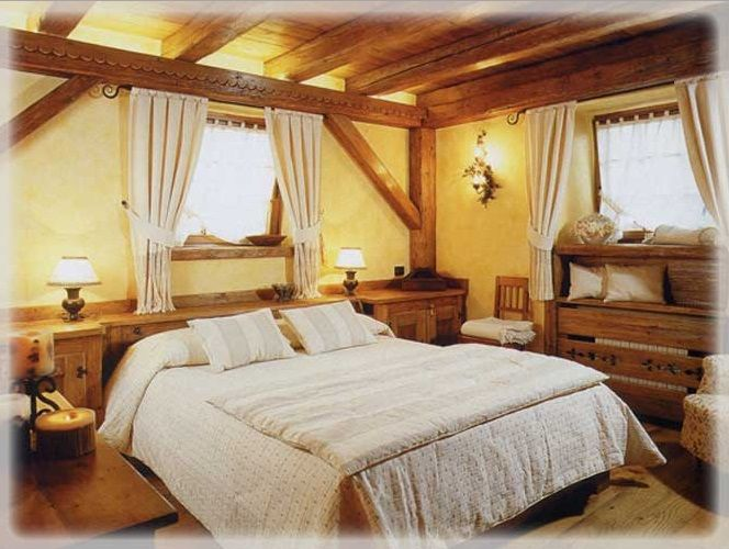 #спальня_в_стиле_кантри