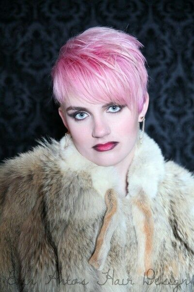 Pink pixie by Erin Antos