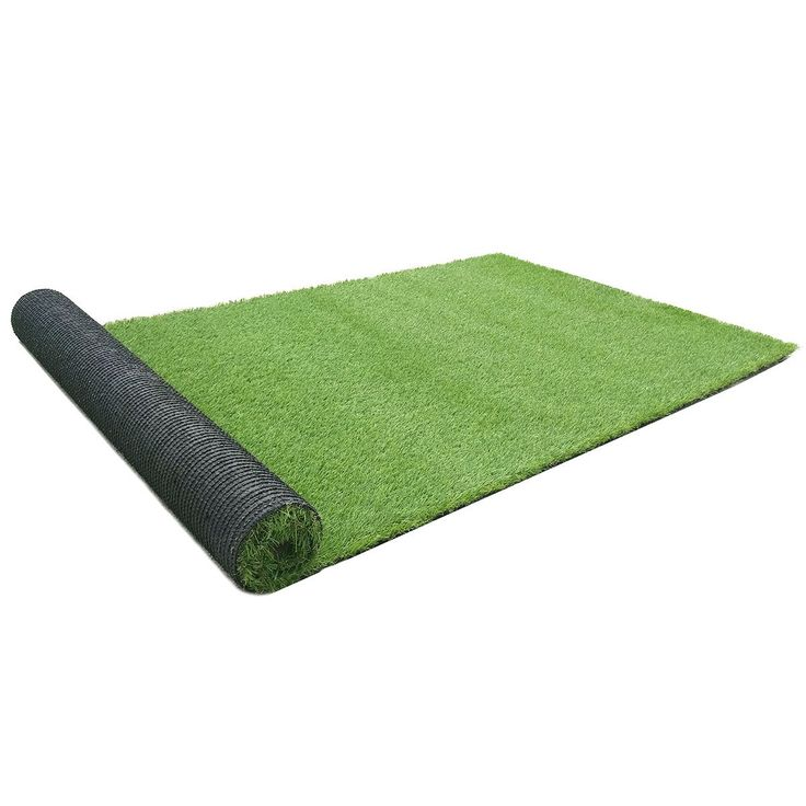RURALITY 3.3 Ft X 7 Ft,1.38-inch Blades Artificial Grass Artificial Turf Fake Grass Carpet for Indoor or Outdoor Decoration