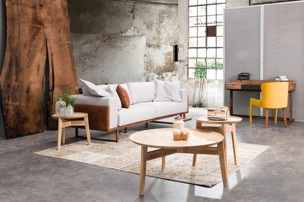 Loft dairelerin vazgeçilmezi: Ahşap mobilyalar