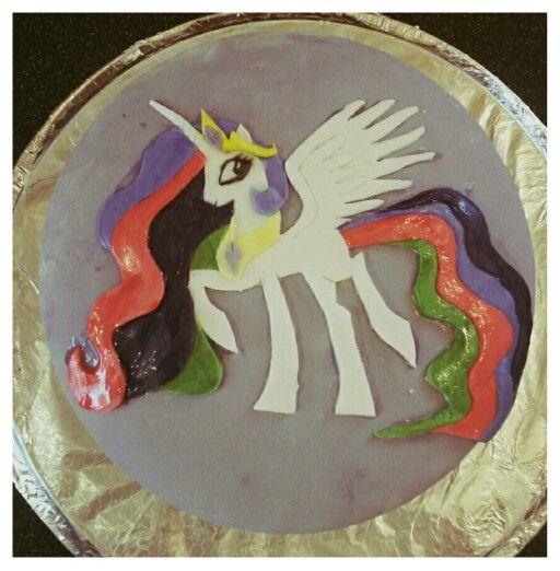 Princess Celestia birthday cake #mylittleponycake #princesscelestia
